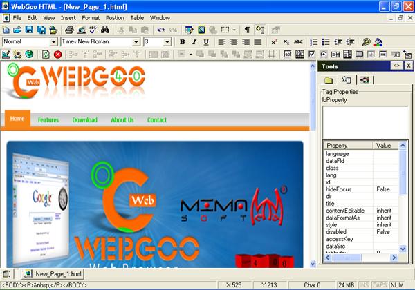 ������� ������ web goo �� ����� ������� ��� ����